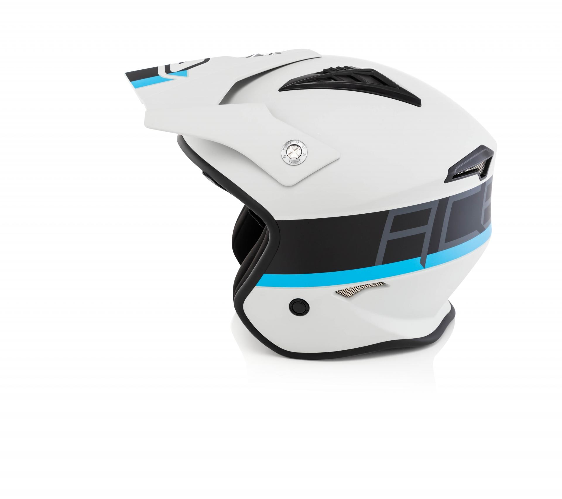helmet JET ARIA grey/black